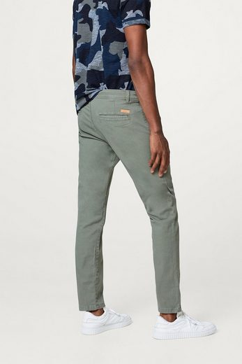 ESPRIT Twill-Hose aus Baumwolle mit Stretchkomfort