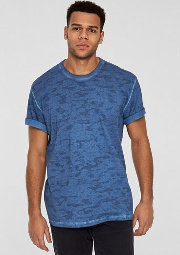 s.Oliver RED LABEL T-Shirt mit Allover-Print