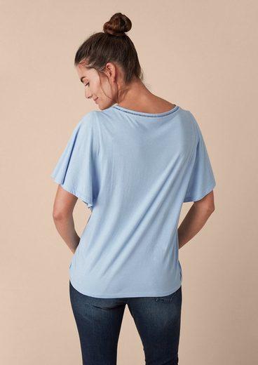 TRIANGLE Jerseyshirt mit modischen Details