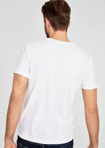 s.Oliver RED LABEL T-Shirt mit Frontprint