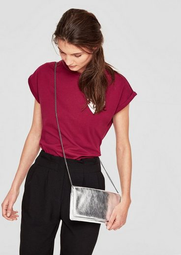 S.oliver Red Label Clutch Im Metallic-look