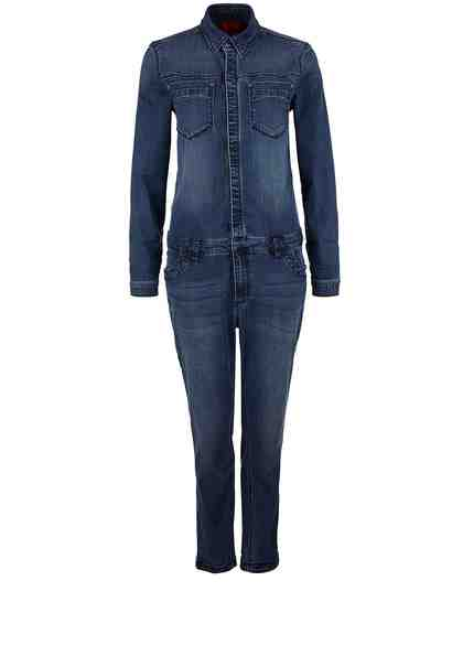 s.Oliver RED LABEL Overall aus Stretch-Denim