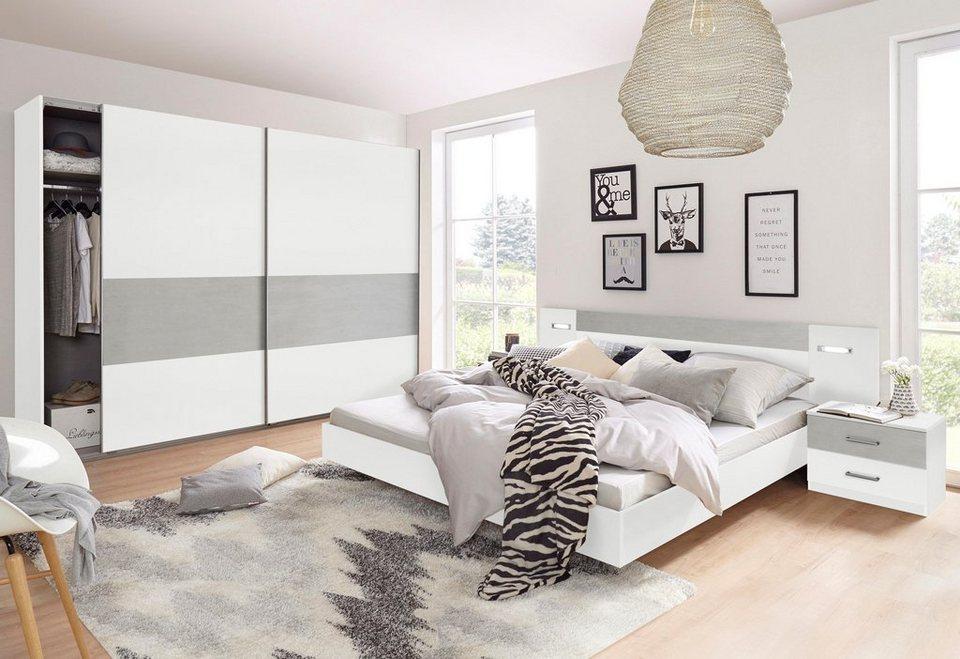Wimex Schlafzimmer-Set (4-tlg.), mit Schwebetürenschrank online ...