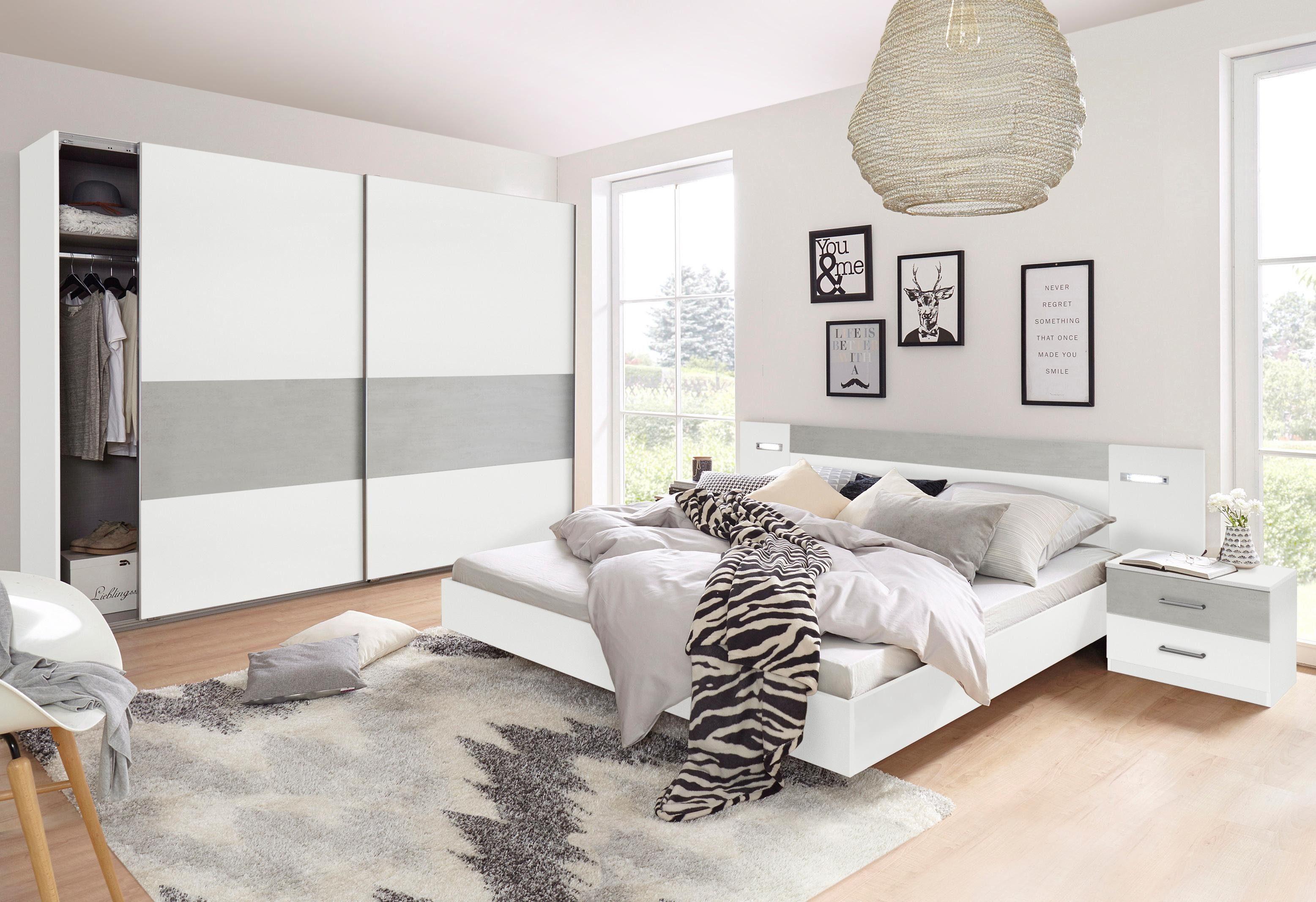 Wimex Schlafzimmer Set »Angie«, Schwebetürenschrank wahlweise Breite 225 cm oder 270 cm online kaufen | OTTO