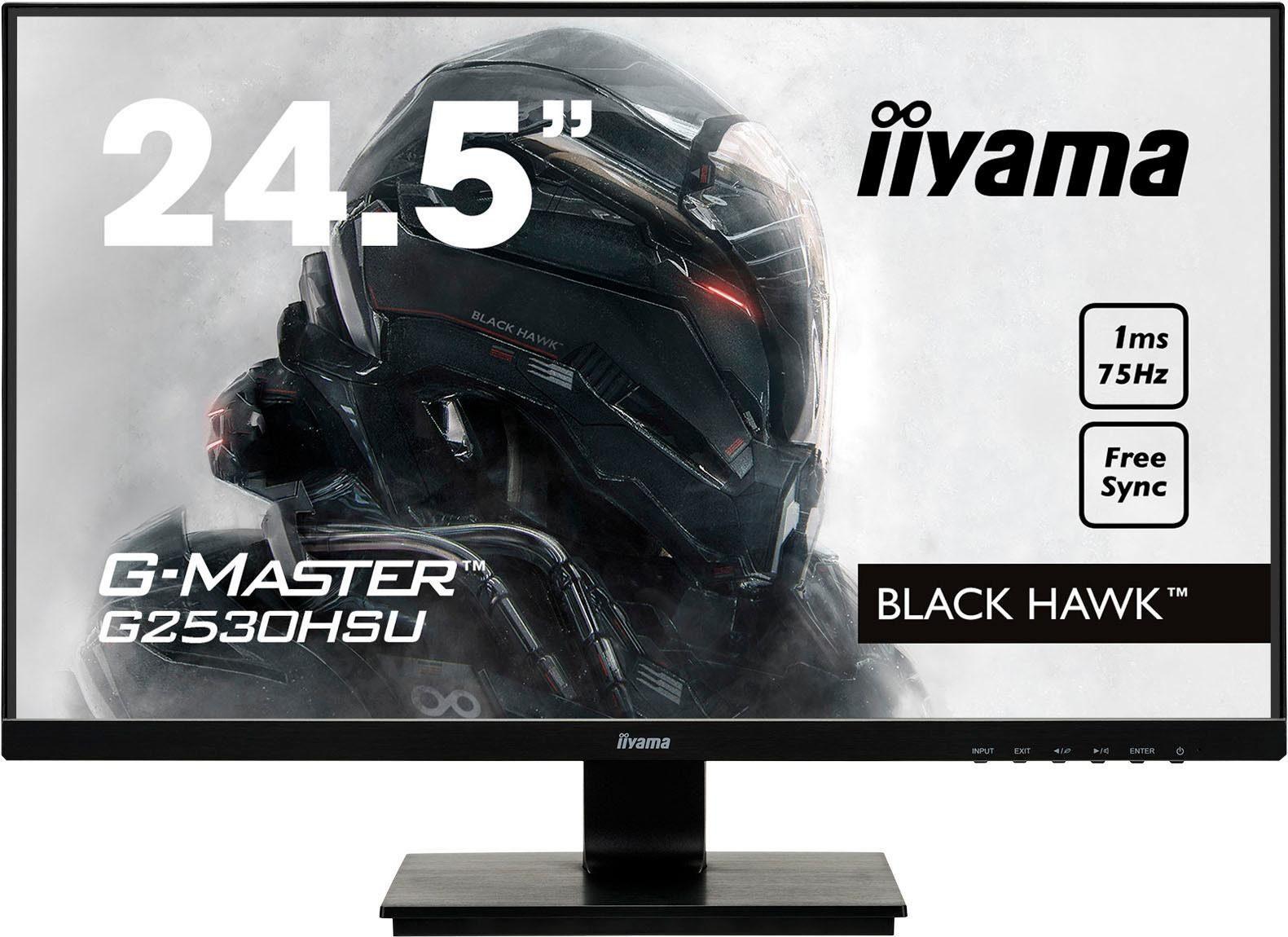 Iiyama G2530HSU-B1 Gaming-LED-Monitor (1920 x 1080 Pixel, Full HD, 1 ms Reaktionszeit, 75 Hz)