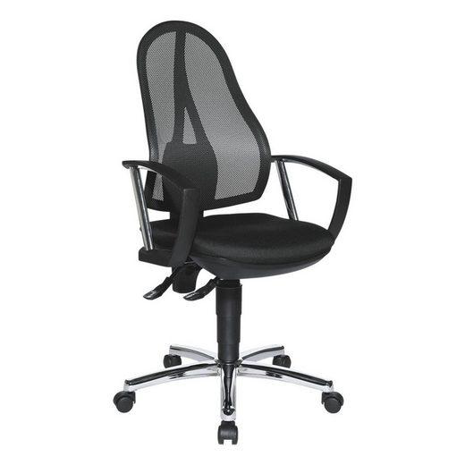 TOPSTAR Schreibtischstuhl »Open Point P Plus« Bandscheibensitz, inkl. Armlehnen