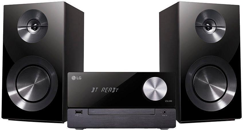 LG »CM2460« Stereoanlage (Bluetooth, FM-Tuner mit RDS, 100 W)