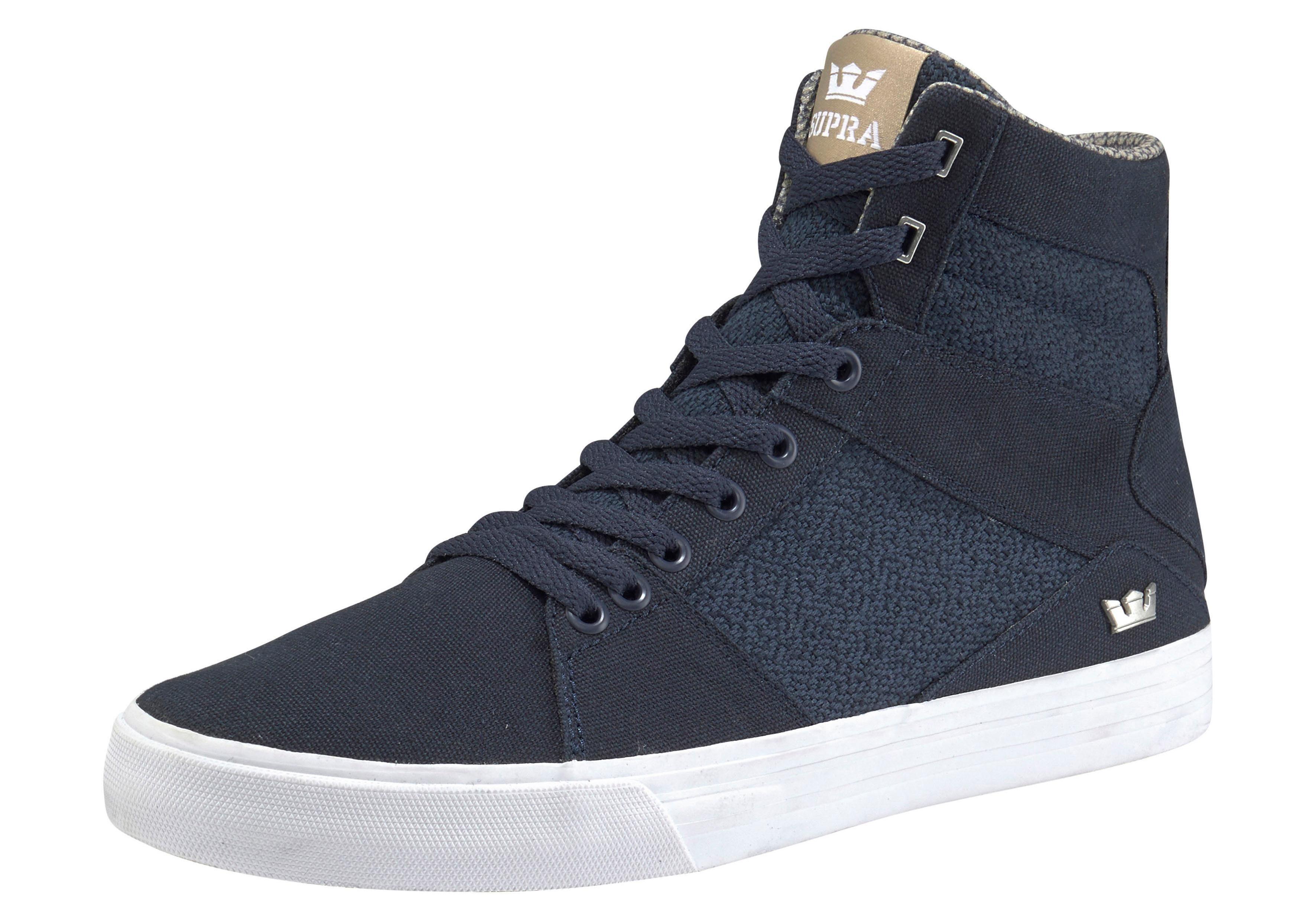 ALUMINUM - Sneaker high - navy/mojave/white EG3pO