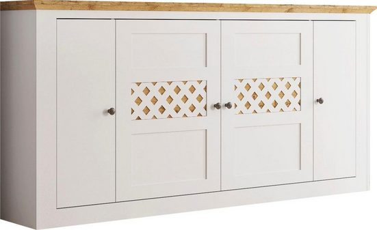 Home affaire Sideboard »Justine«, wahlweise in 200 oder 220 cm Breite (4-türig)