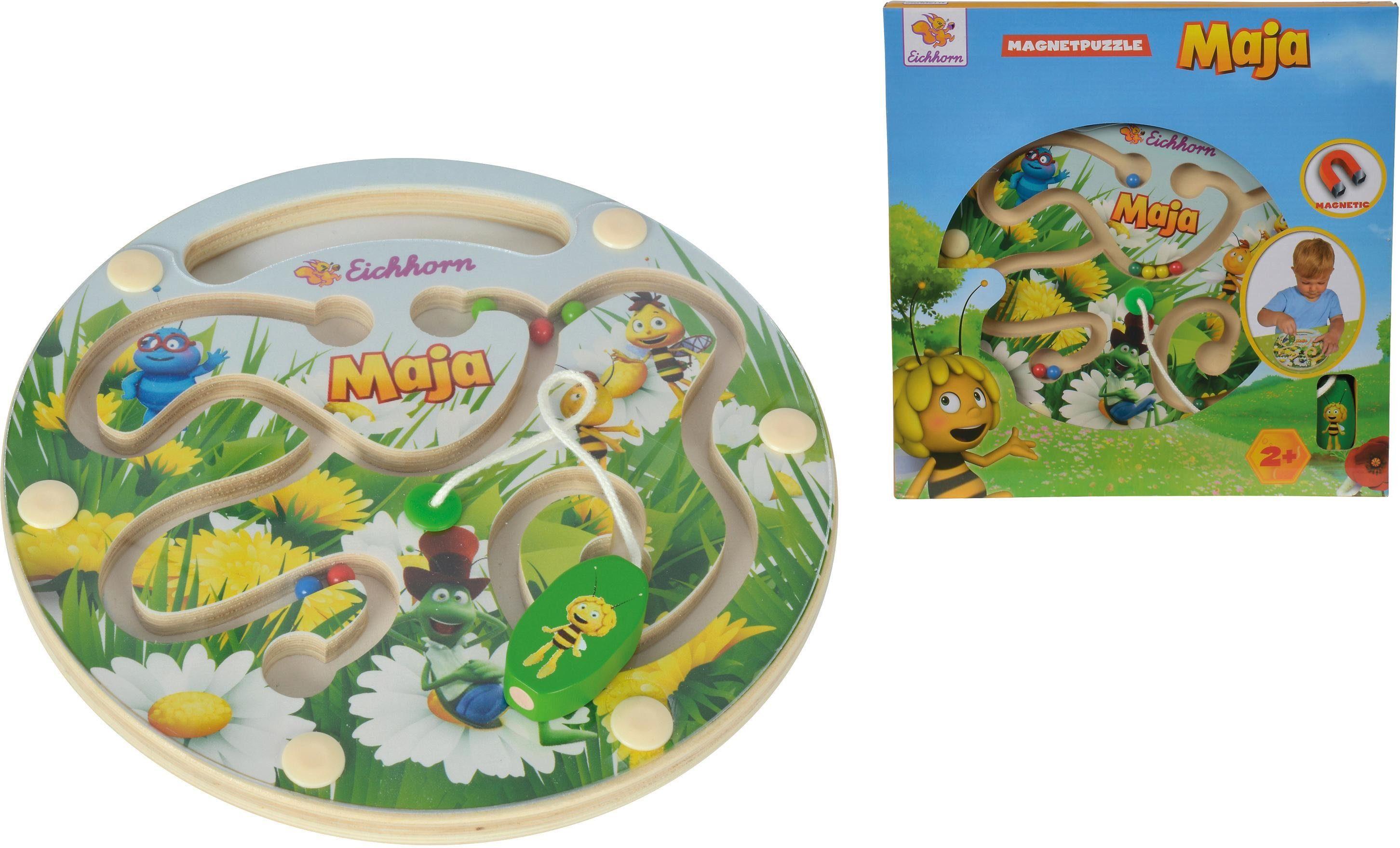 Eichhorn Magnetspiel aus Holz, »Biene Maja, Maja Magnetpuzzle«