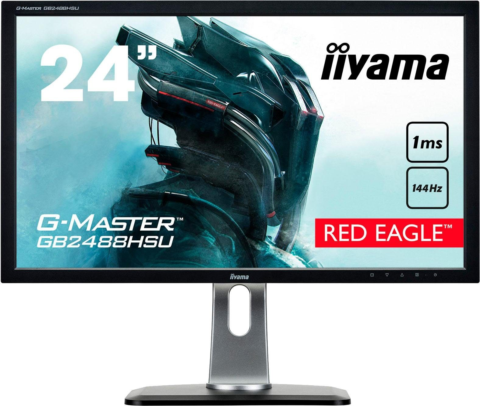 Iiyama GB2488HSU-B3 Gaming-LED-Monitor (1920 x 1080 Pixel, Full HD, 1 ms Reaktionszeit, 144 Hz)