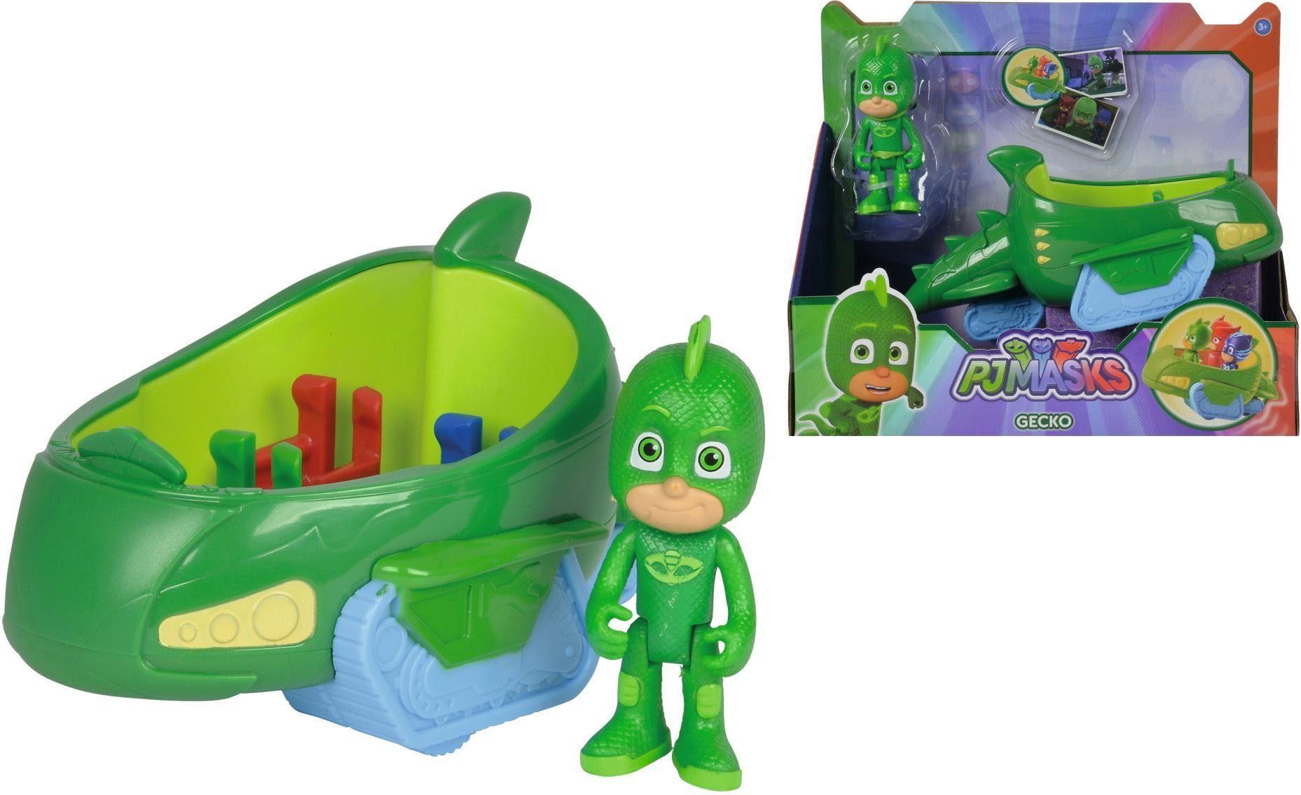 Simba Spielset, »PJ Masks, Gecko mit Geckomobil«