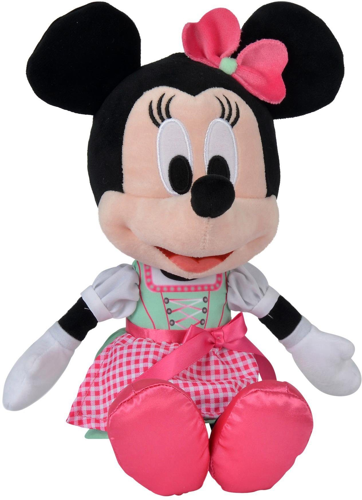 Simba Plüschfigur, »Disney Dirndl Minnie, Refresh, 35 cm«