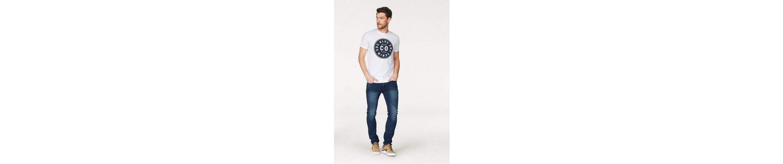 EDC by Esprit T-Shirt, mit Logoplakette