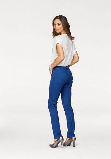 Siluette In jeans Stretch Mac »angela Pipe Schmaler Smart« 0xvXBX