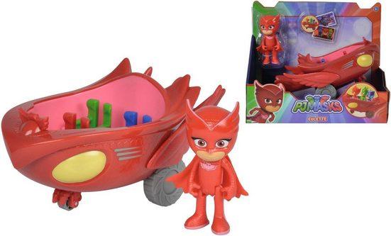 SIMBA Spielzeug-Auto »PJ Masks, Eulette mit Eulengleiter«