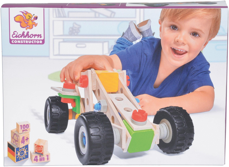 Eichhorn Konstruktionsspielzeug, »Constructor, Quad, 100-tlg.«