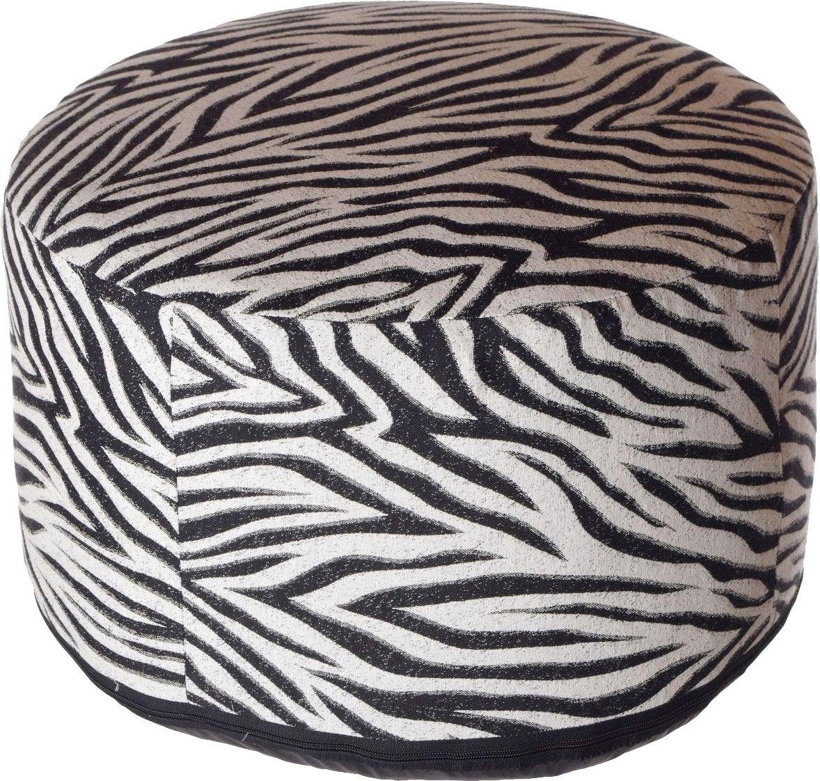 Home affaire Sitzkissen »Zebra«, 50/34 cm