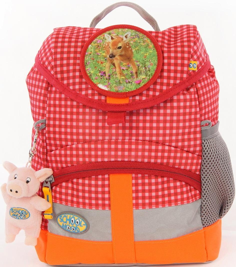 School Mood Kinderrucksack Set, 3-tlg., »Kiddy Lissy«