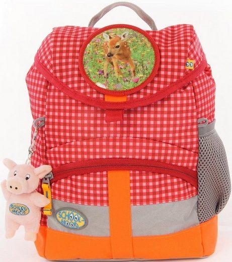 SCHOOL-MOOD® Kinderrucksack »Kiddy Lissy« (Set)