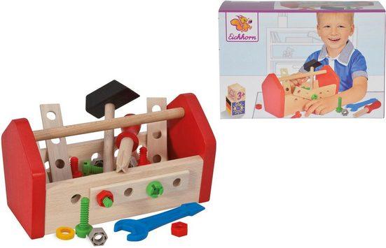 Eichhorn Spielwerkzeugkoffer »Werkzeugbox«, (Set), aus Holz, Made in Germany