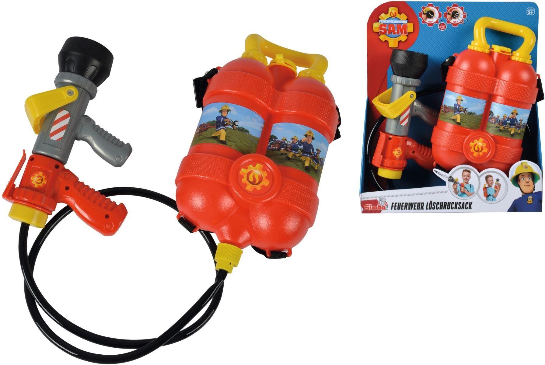 Simba Outdoorspielzeug, »Feuerwehrmann Sam, Tankrucksack«