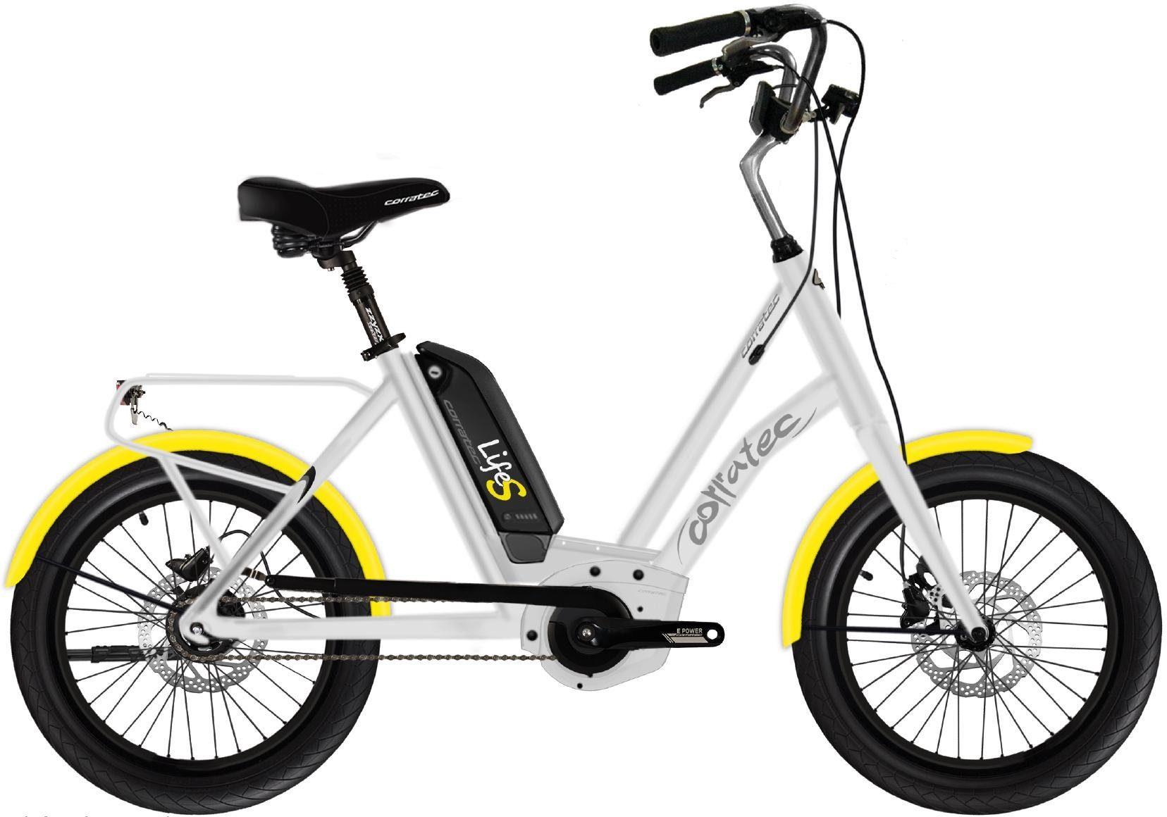 corratec E-Bike »Life Sunny Active 400«, Nabenschaltung, Mittelmotor 250 W