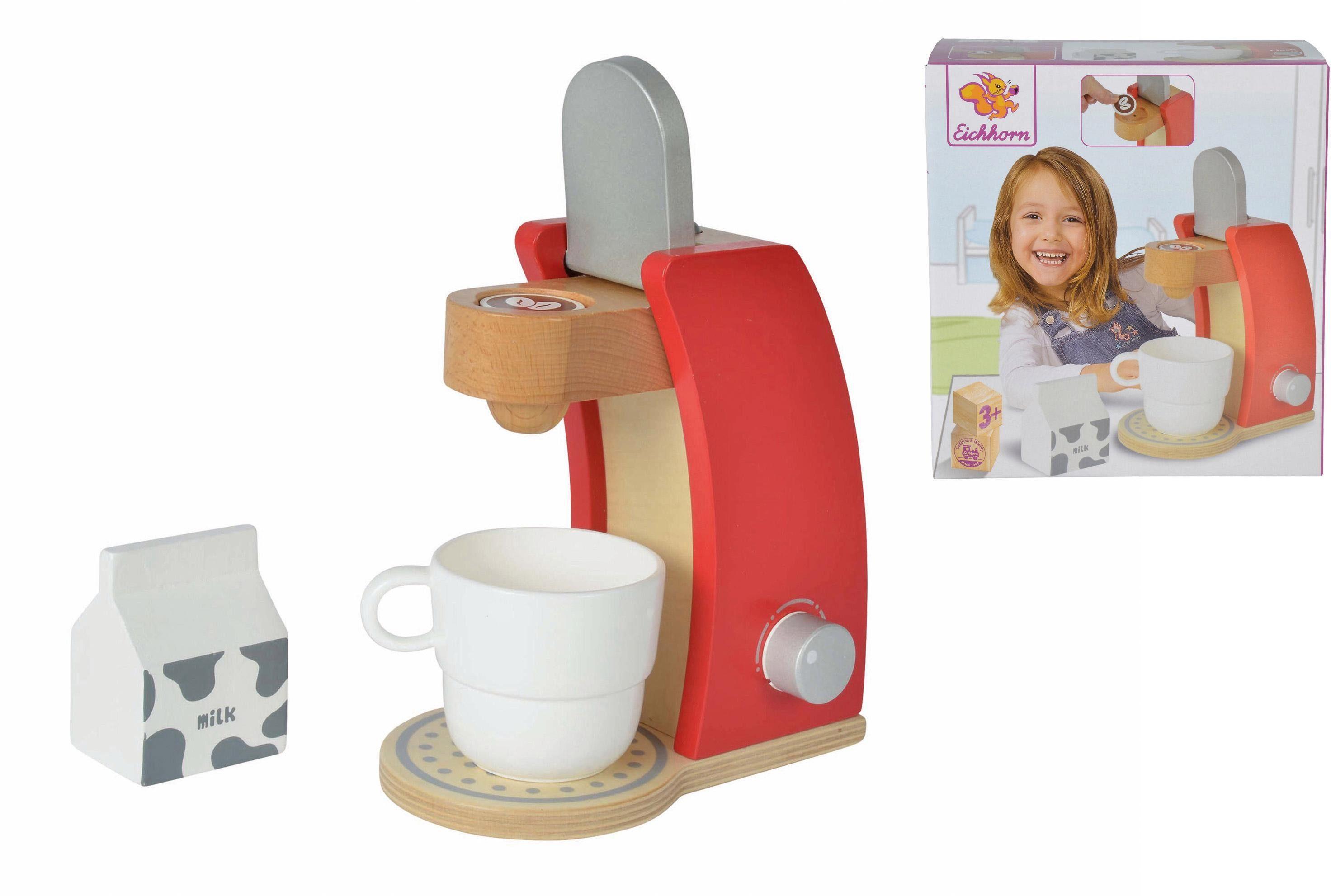 Eichhorn Kinderküchenzubehör aus Holz, »Kaffeemaschine«