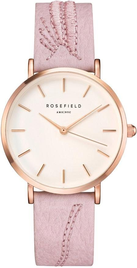 ROSEFIELD Quarzuhr »City Bloom Blossom White Rosegold, CIBLR-E91«