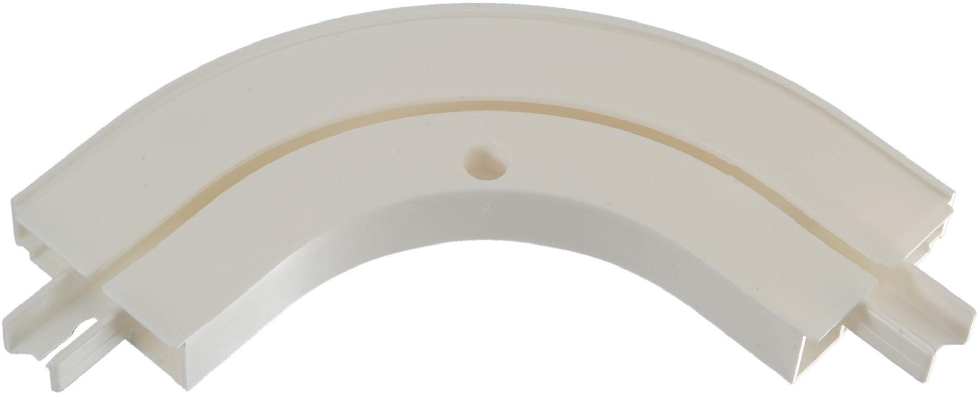 Erker-Außenbogen, Liedeco, für 1-läufige Gardinenschienen (1 Stück)