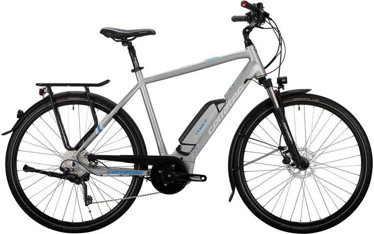 corratec E-Bike »E-Power 28 Active 10s Gent«, Kettenschaltung, Mittelmotor 250 W