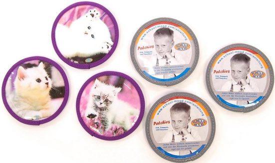 SCHOOL-MOOD® Patchies »Patchy Katze«, Polyester, für Schulranzen