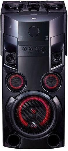 LG »OM5560« Stereoanlage (Bluetooth, FM-Tuner, 500 W)
