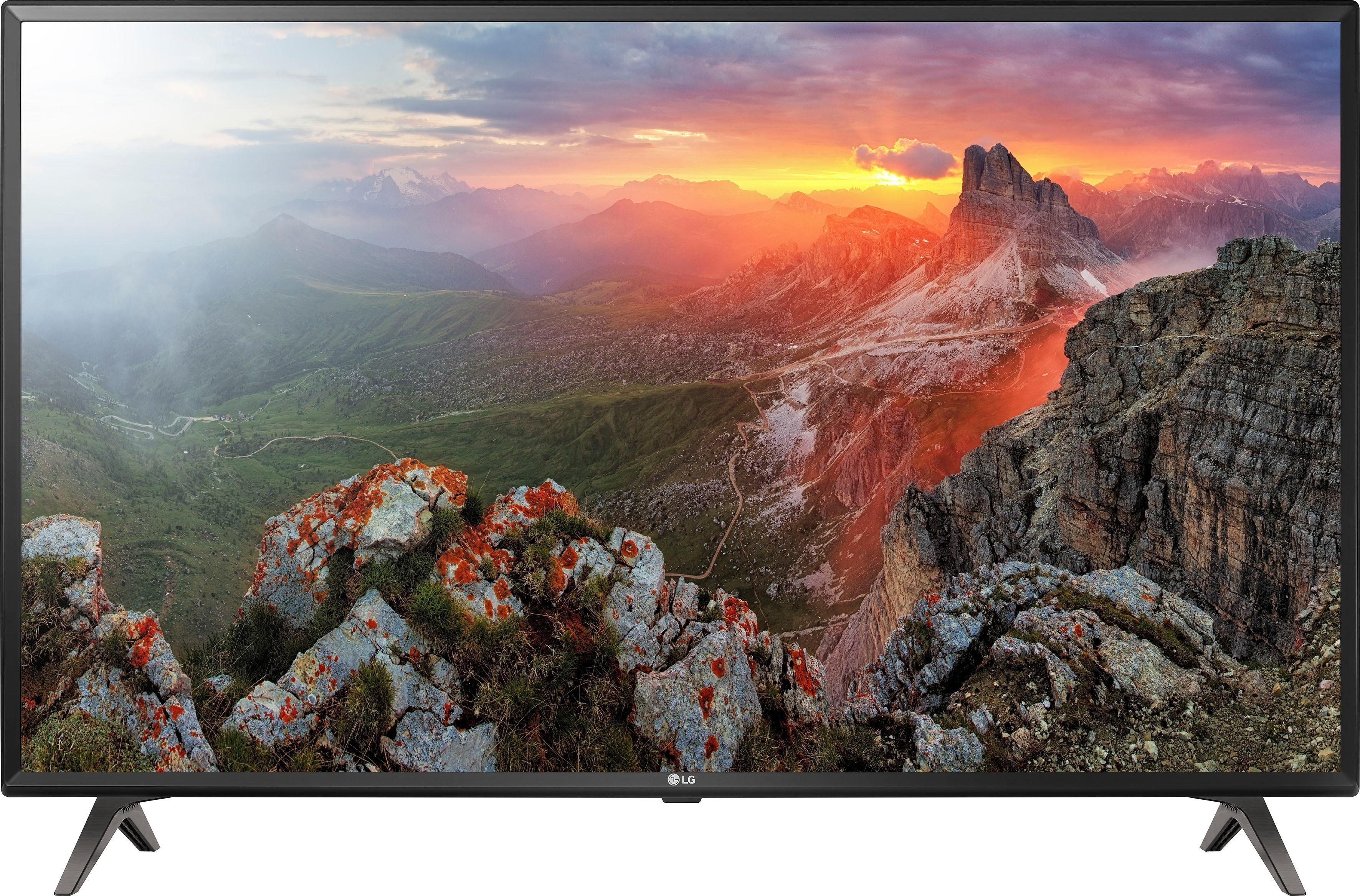 LG 50UK6300LLB LED-Fernseher (127 cm/50 Zoll, 4K Ultra HD, Smart-TV)