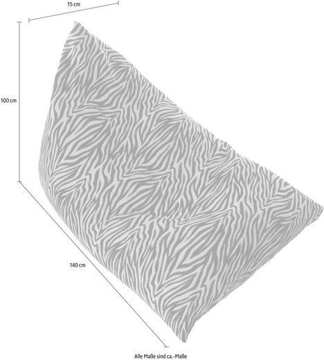Home affaire Chillkissen »Zebra«  100/140 cm