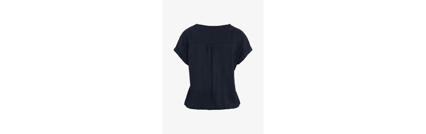 Tom Tailor Langarmbluse Bluse mitelastischem Bund Qualität Freies Verschiffen 98OxNhCr