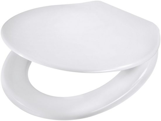 WC-Sitz »weiß«, mit Absenkautomatk
