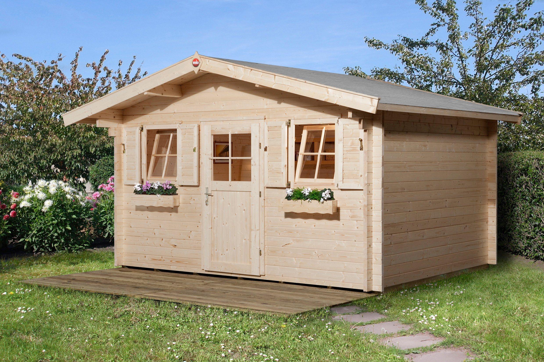 WEKA Gartenhaus »138 Gr.2«, BxT: 450x450 cm, inkl. Fußboden | Garten > Gartenhäuser | weka
