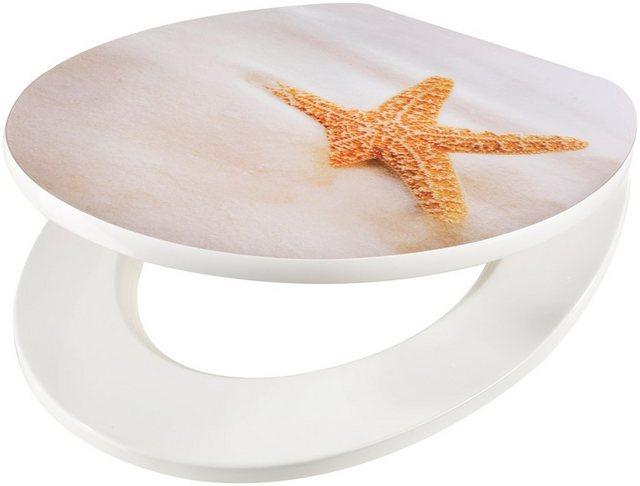WCs und Zubehör - WC Sitz »Seestern am Strand«, MDF Toilettensitz mit Absenkautomatik  - Onlineshop OTTO