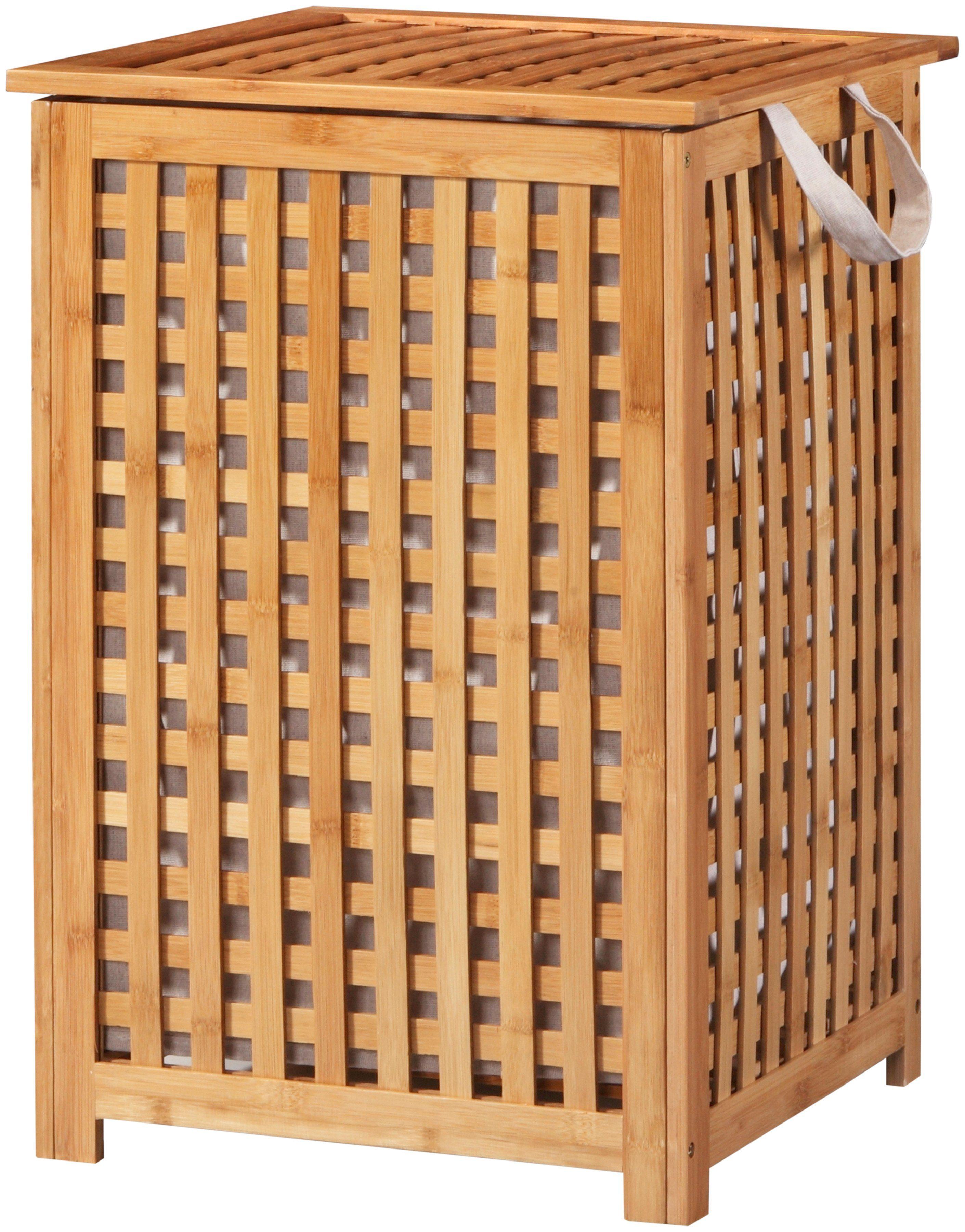 KONIFERA Wäschekorb »Bambus«, Wäschebox, 40 cm breit