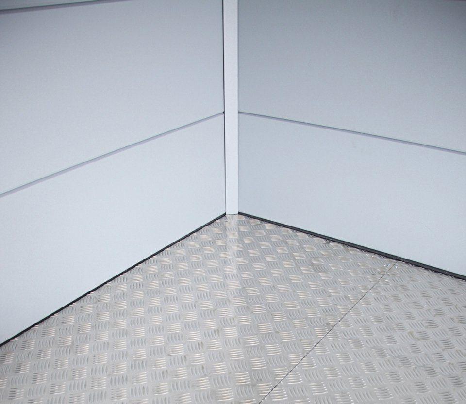WOLFF Fußboden für Gartenhäuser , für Stahlgerätehaus »Eleganto 2424«