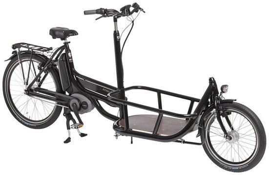 PFAUTEC E-Bike Lastenrad »Carrier«, 26 Zoll, 7 Gang, Bosch Mittelmotor, 250 Wh