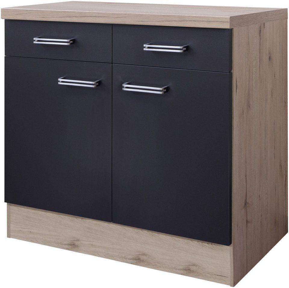 k chenunterschrank antigua breite 80 cm kaufen otto. Black Bedroom Furniture Sets. Home Design Ideas