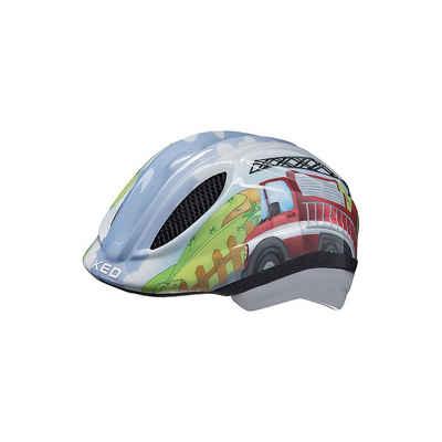 KED Helmsysteme Kinderfahrradhelm »Fahrradhelm Meggy Trend Fußball, grün«