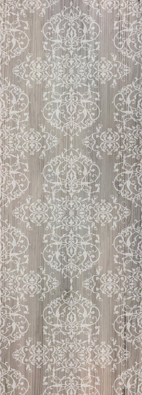 QUEENCE Vinyltapete »Muster-Grau-Braun«, 90 x 250 cm, selbstklebend
