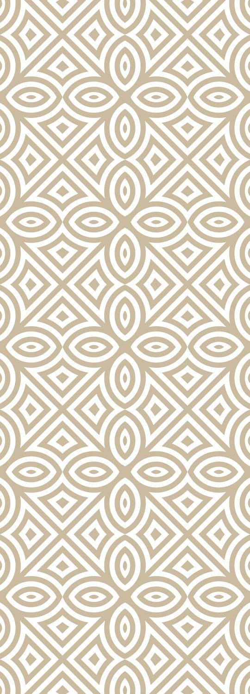 QUEENCE Selbstklebefolie »Muster-Beige«, Tapete 90 x 250 cm Vinylfolie
