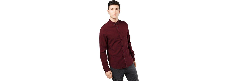 Fitted Denim Tailor Tom Shirt Knopfleiste Picqué Langarmhemd wg5ZtqtAx