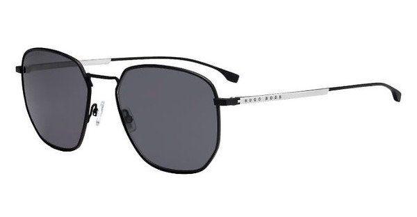 Boss Herren Sonnenbrille » BOSS 0992/F/S«, grau, 8HT/XT - grau/blau