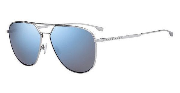 Boss Herren Sonnenbrille » BOSS 0994/F/S«, grau, WCN/IR - grau/grau
