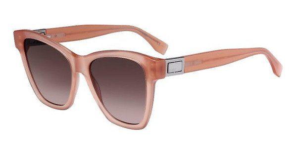 FENDI Fendi Damen Sonnenbrille » FF 0289/S«, rosa, 35J/HA - rosa/braun
